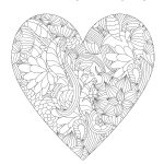 Valentines Day Coloring Pages For Adults Free Valentines Day Coloring Pages For Grown Ups Almost Supermom