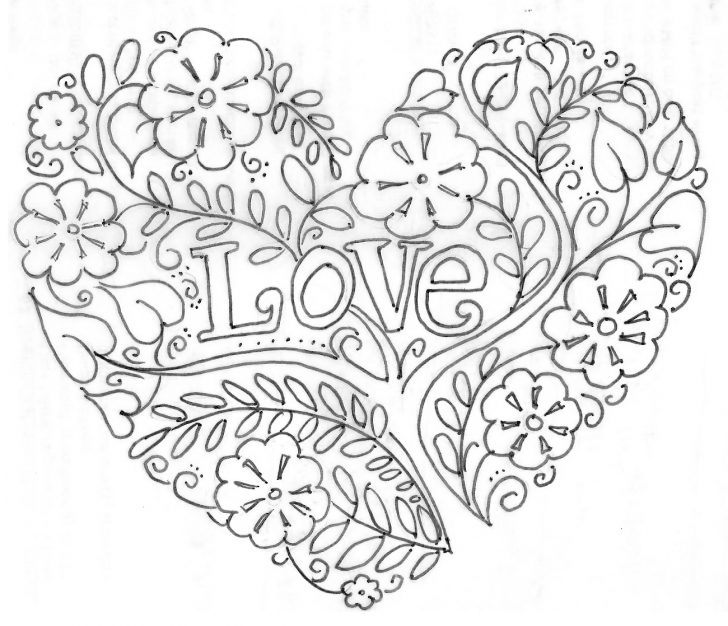 Valentines Day Coloring Pages For Adults Printable Valentines Day Coloring Pages My Craftily Ever After