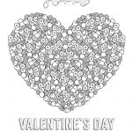 Valentines Day Coloring Pages For Adults Valentines Day Coloring Pages For Adults Best Coloring Pages For Kids