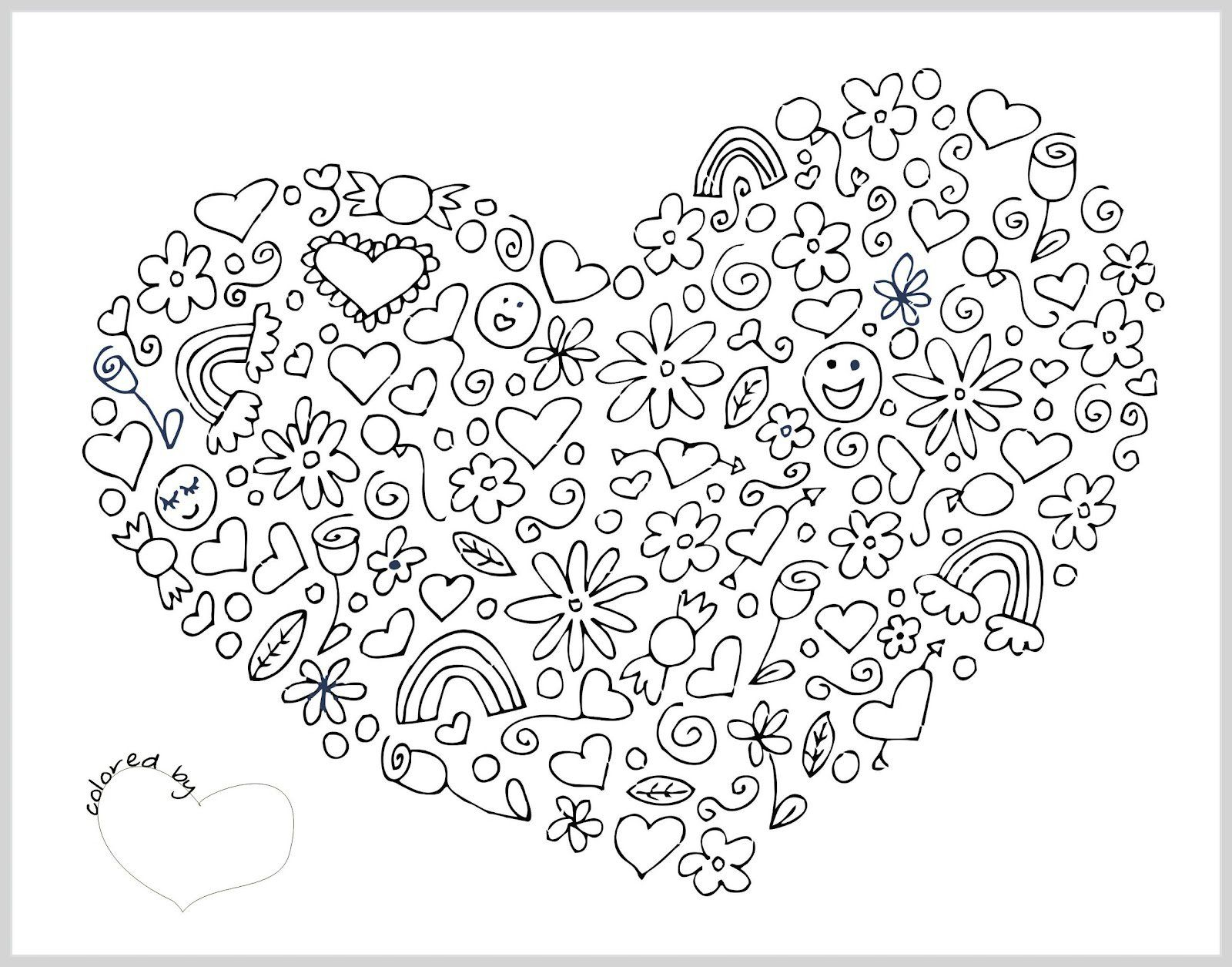 Valentines Day Coloring Pages For Adults Valentines Day Mandala Coloring Pages With Pin Rhonda Floyd On
