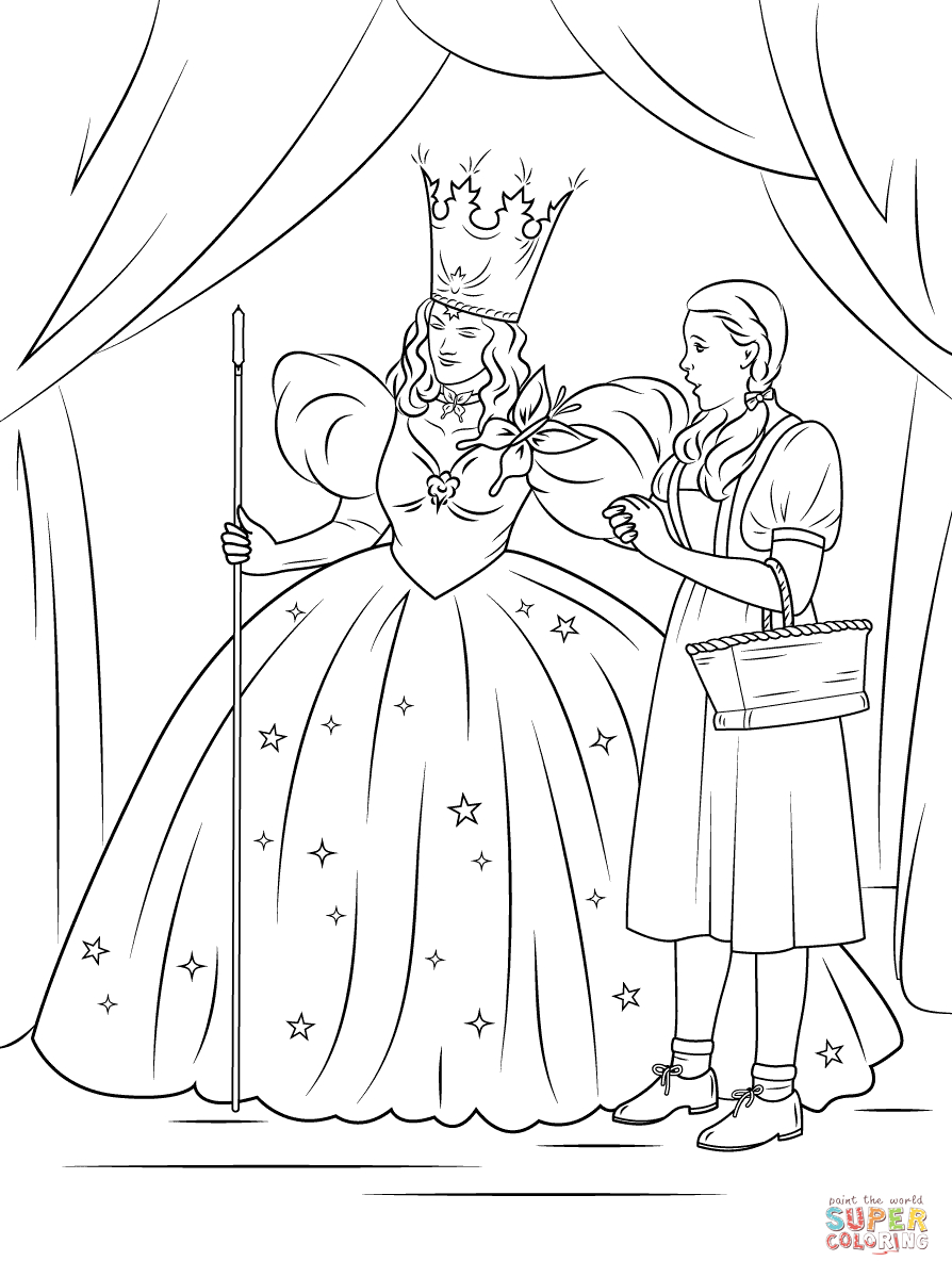 25+ Great Picture of Wizard Of Oz Coloring Pages