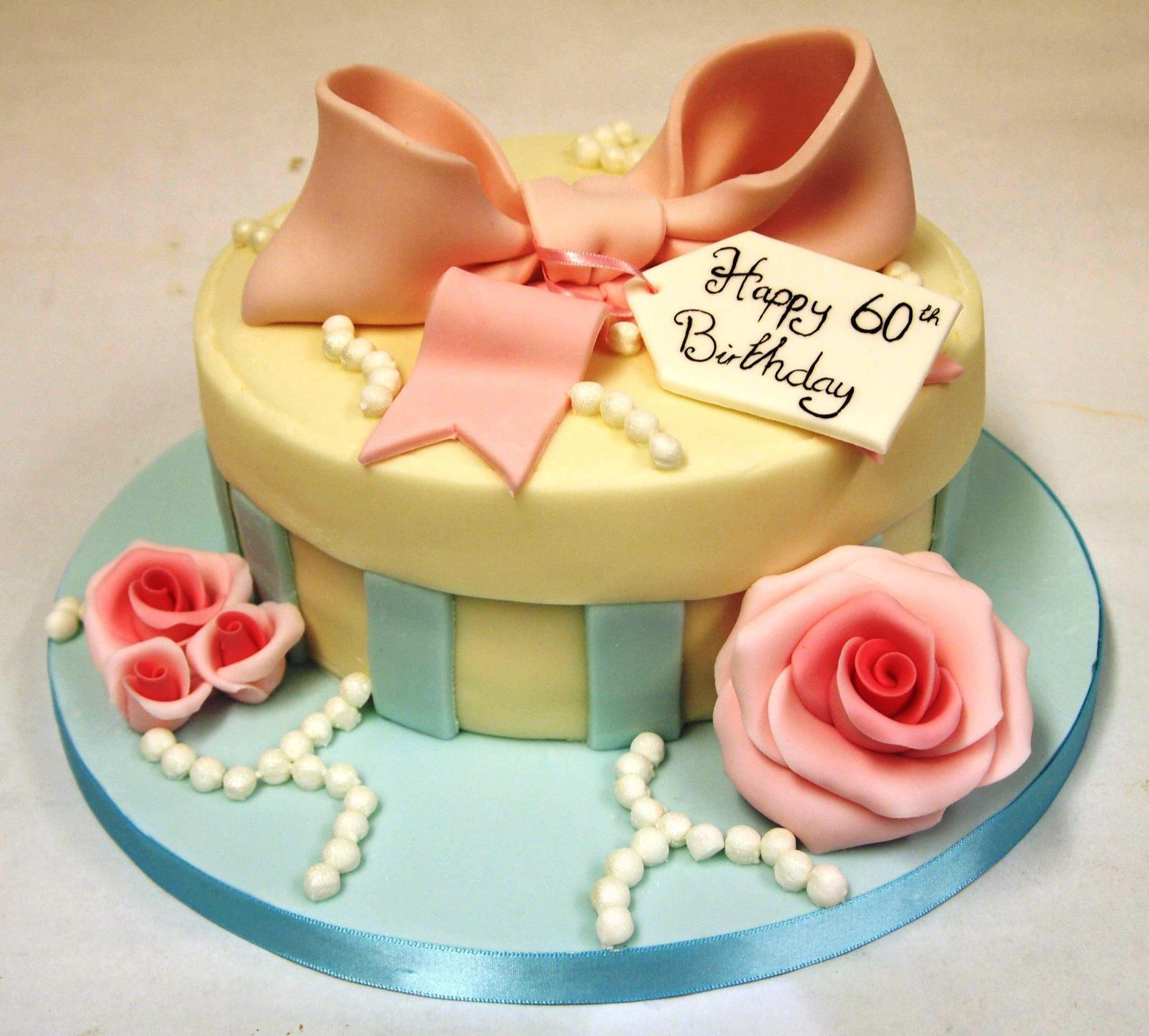 Women S Birthday Cake Ideas 60th Birthday Cakes As Decorations For