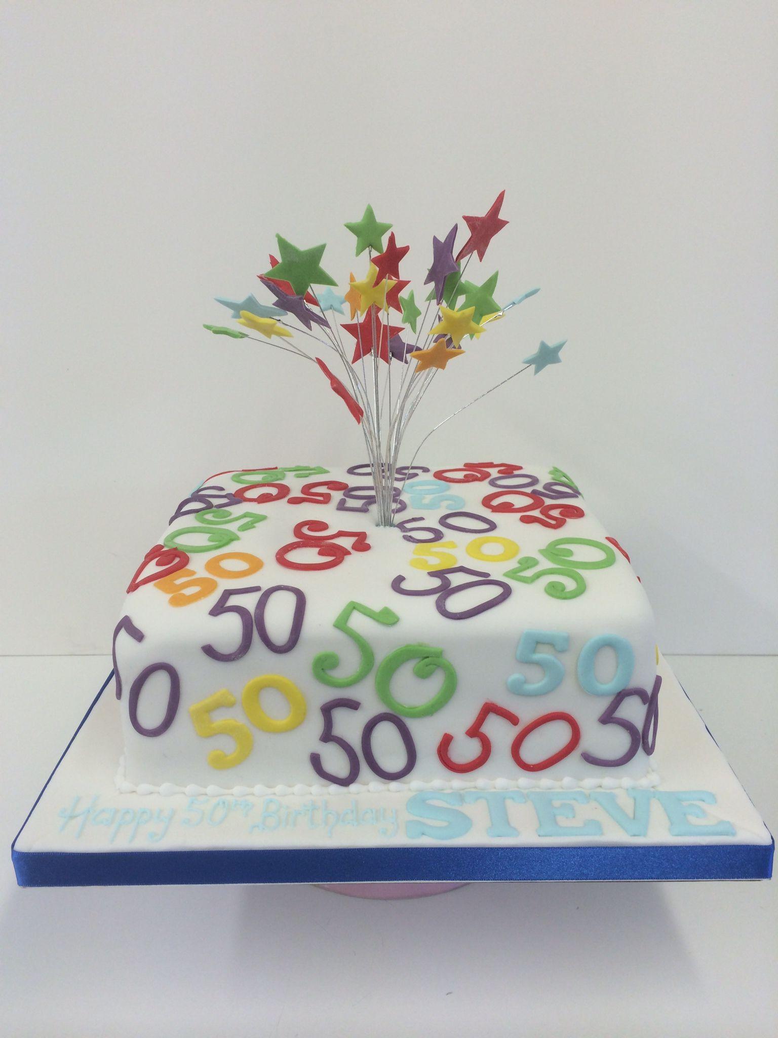 50th Birthday Cakes Women For Celebrations Cake Ideas