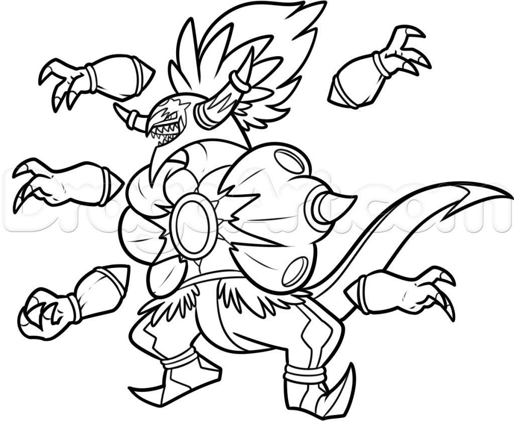 Coloring Pages Of Pokemon Coloring