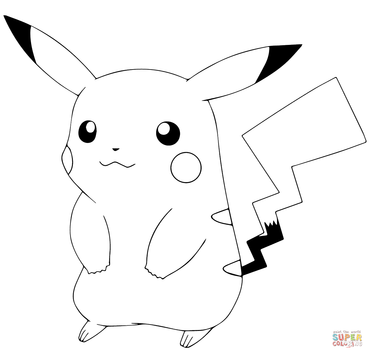 Coloring Pages Of Pokemon Pokmon