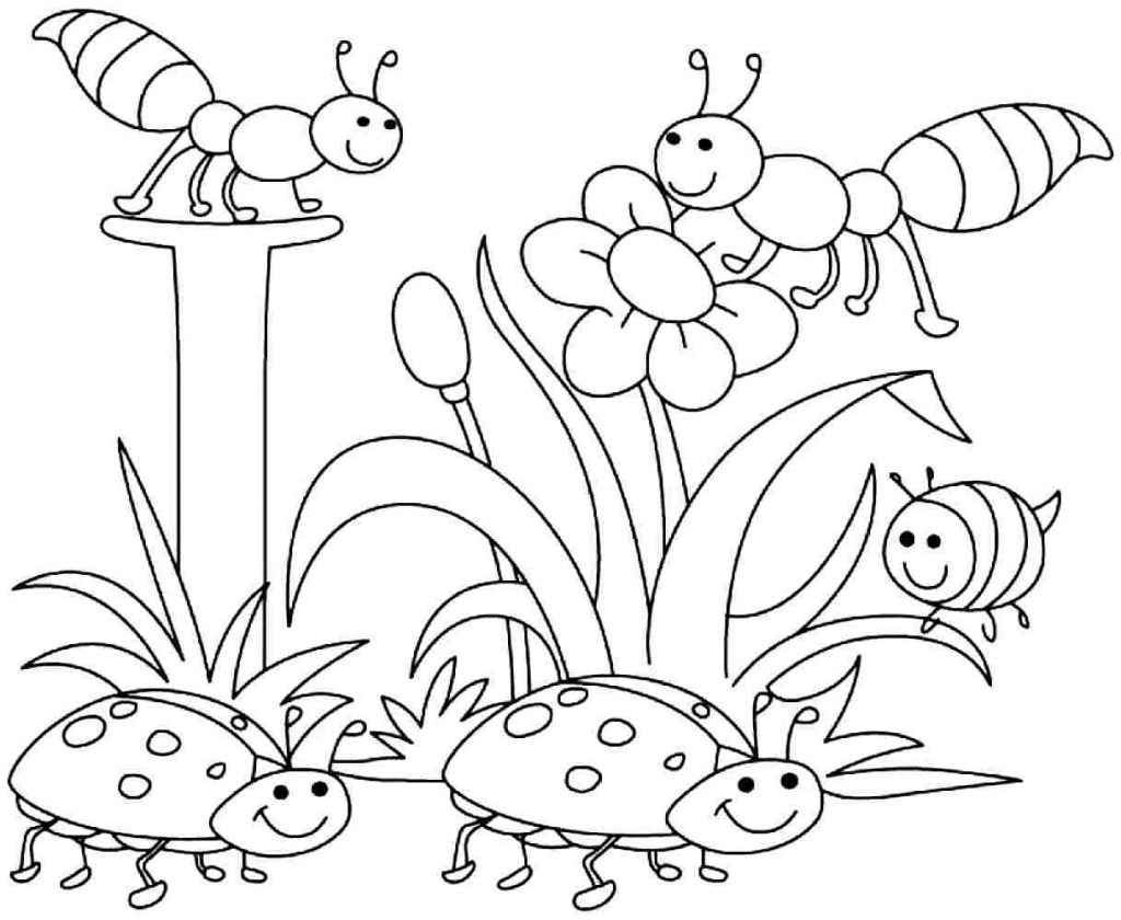 Coloring Pages Spring Coloring