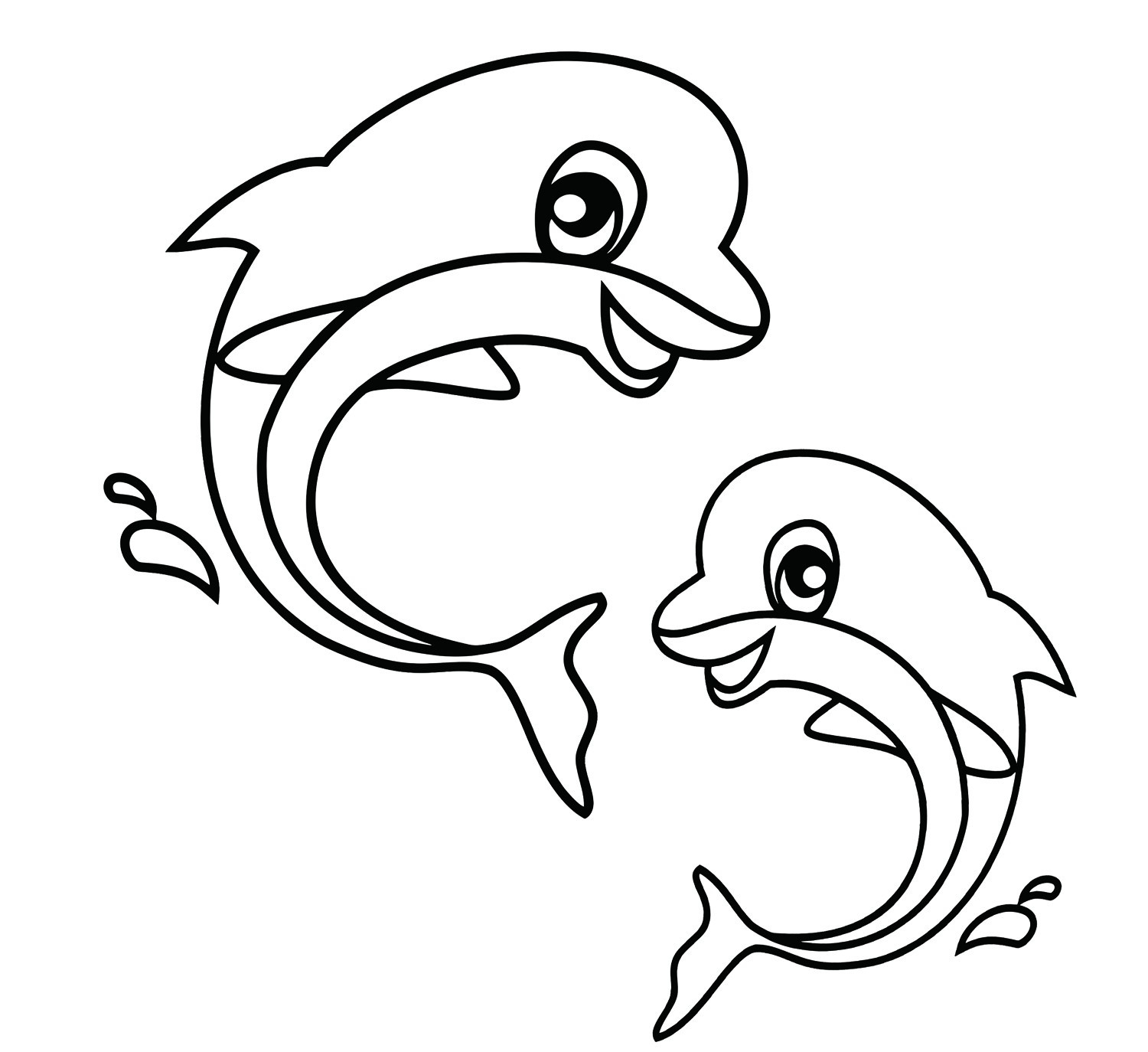 Cute Animal Coloring Pages Free