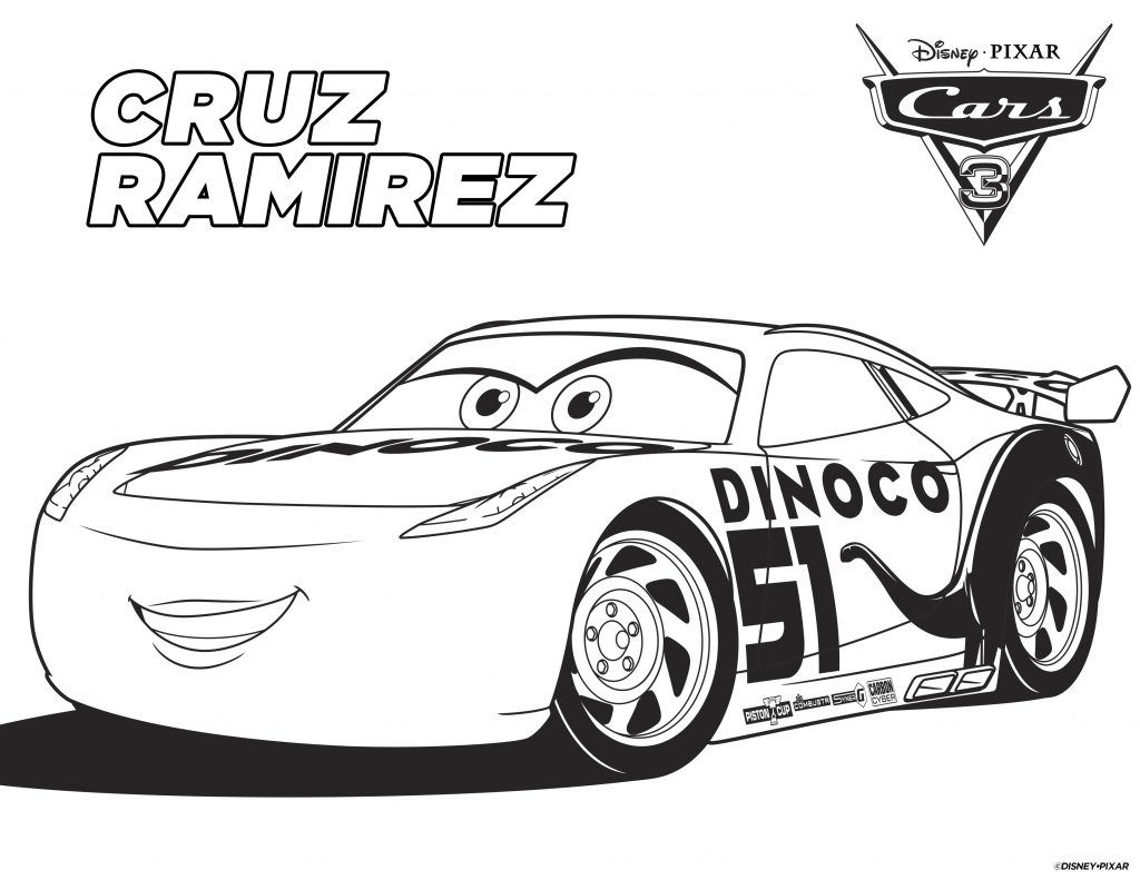 Disney Cars Coloring Pages Printable Disney Cars Coloring