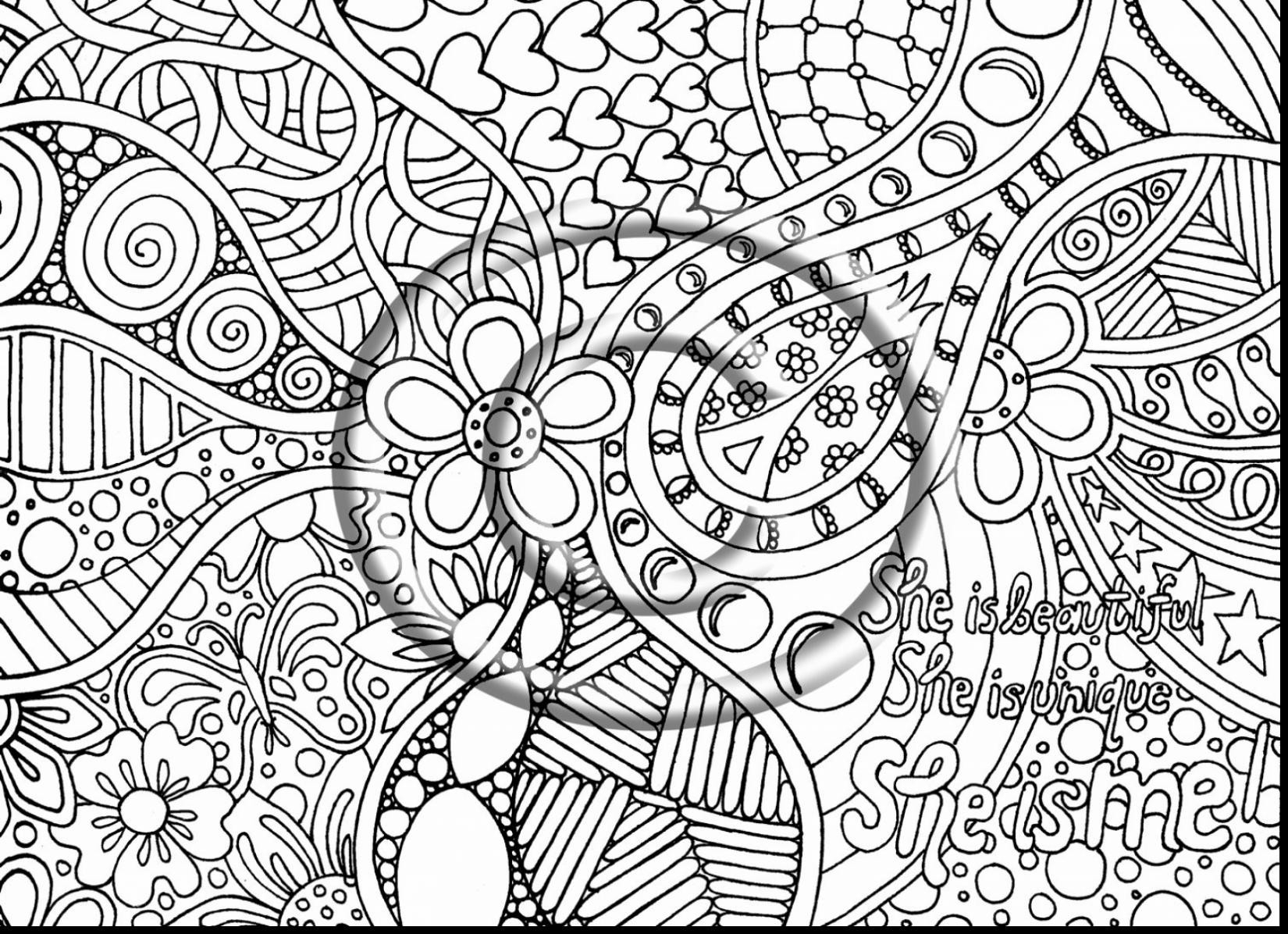 30+ Inspiration Image of Trippy Coloring Pages ...